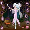 Good witch makeover - Halloween game