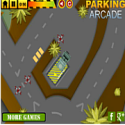 Army vehicles parking - tank game