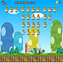 Mario world invaders - army game