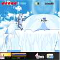 Polar bear fast - obstacle game