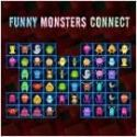 Funny monsters connect - matching game