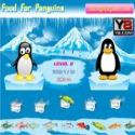 Food for penguins - penguin game