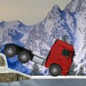 Truck trial winter - balancing game